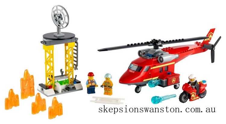 Clearance Lego Fire Rescue Helicopter