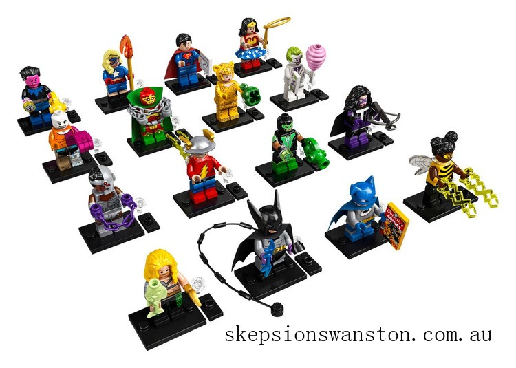 Discounted Lego DC Super Heroes Series Complete Box