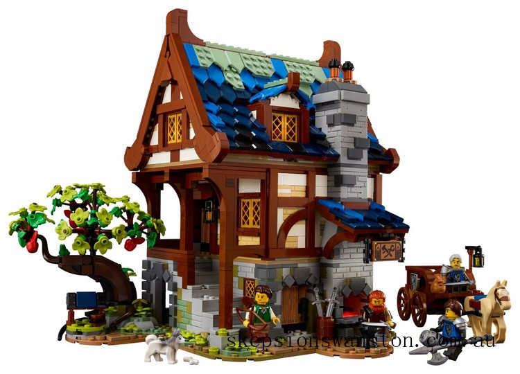 Hot Sale Lego Medieval Blacksmith