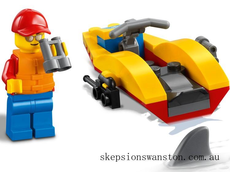 Genuine Lego Beach Rescue ATV