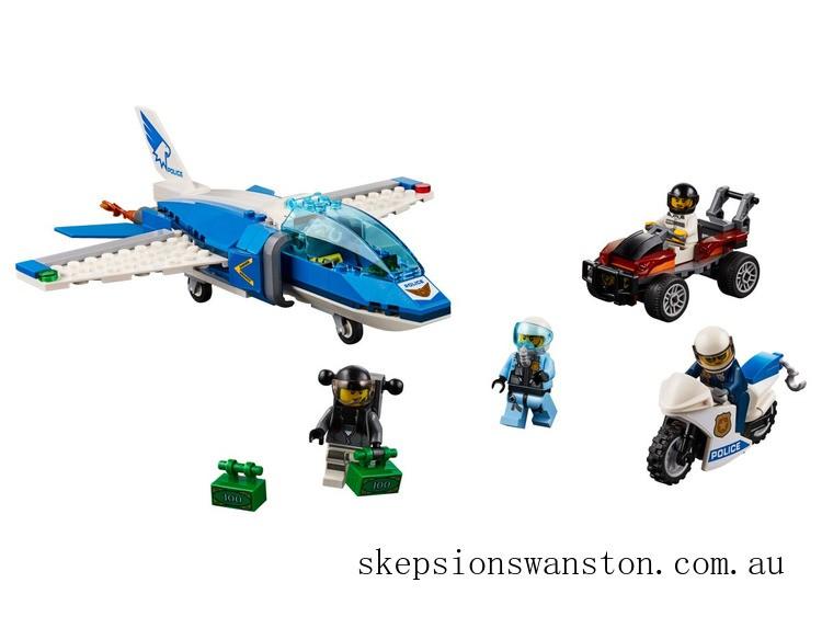 Clearance Lego Sky Police Parachute Arrest