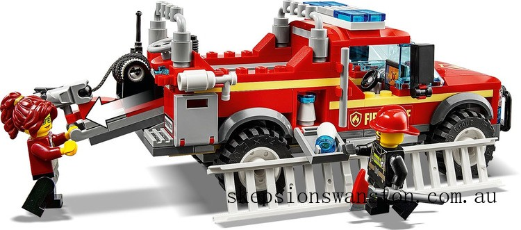 Hot Sale Lego Fire Chief Response Truck