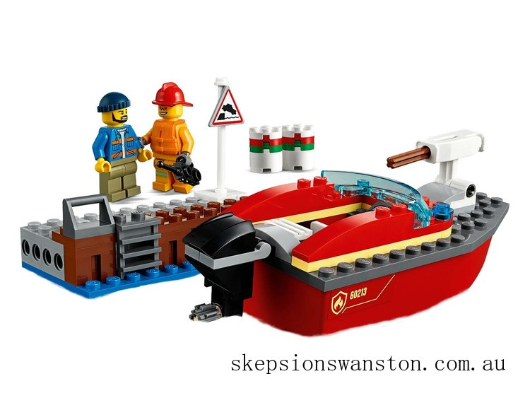 Discounted Lego Dock Side Fire