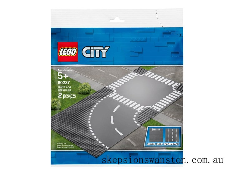 Discounted Lego Curve and Crossroad