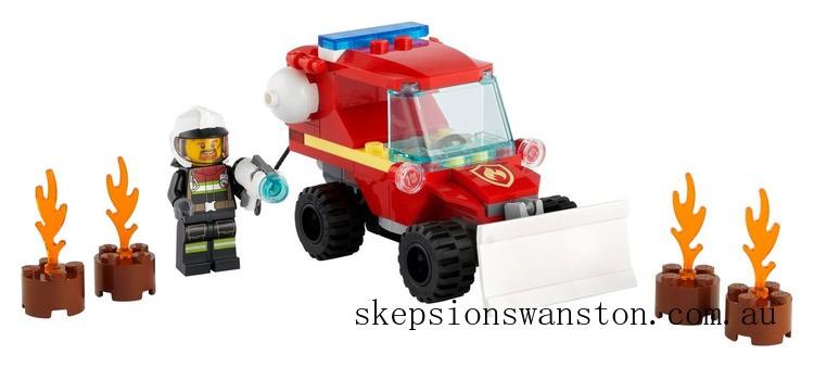 Genuine Lego Fire Hazard Truck