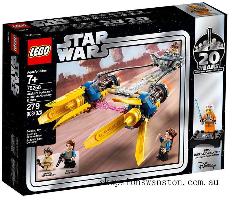 Clearance Lego Anakin's Podracer™ – 20th Anniversary Edition