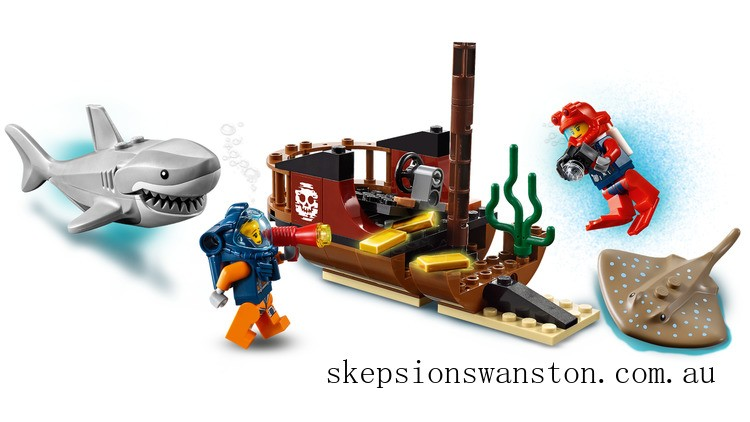 Discounted Lego Ocean Exploration Ship