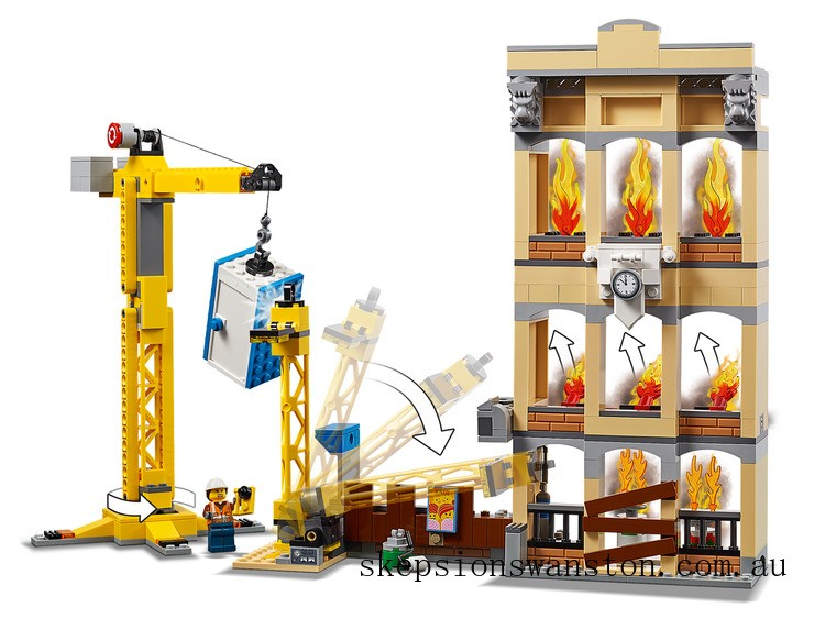 Genuine Lego Downtown Fire Brigade