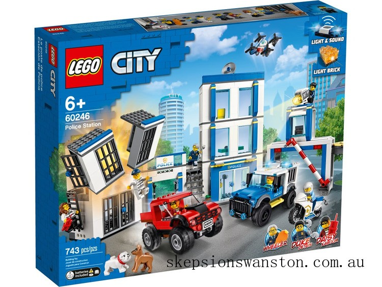 Clearance Lego Police Station
