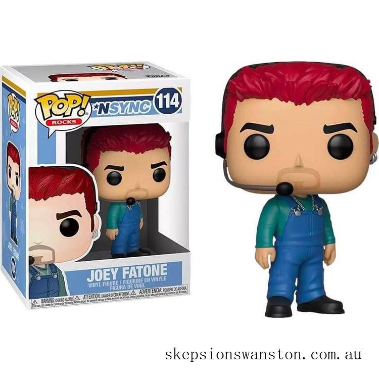 Pop! Rocks NSYNC Joey Fatone Funko Pop! Vinyl Clearance Sale