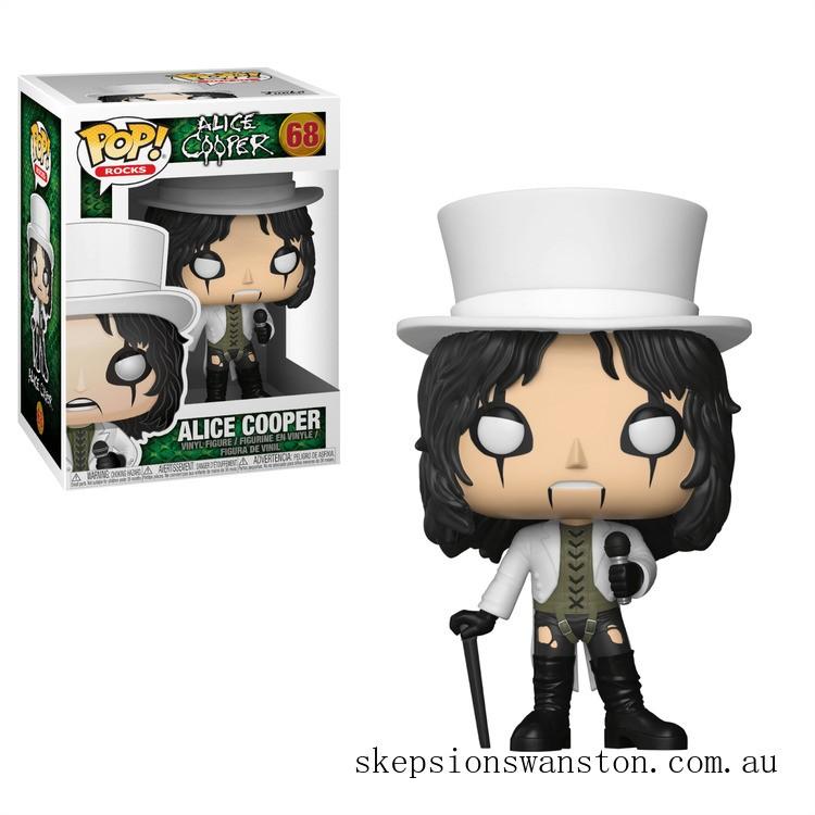 Pop! Rocks Alice Cooper Funko Pop! Vinyl Clearance Sale