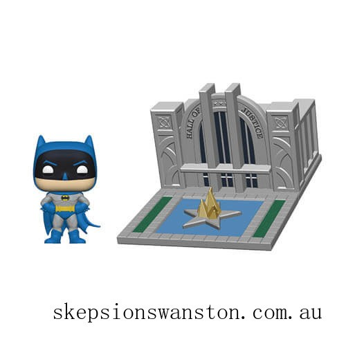 Batman with Hall of Justice Batman 80th Funko Pop! Town Clearance Sale