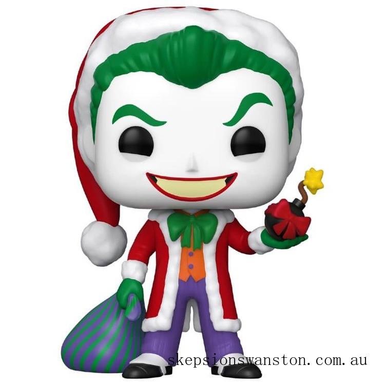 DC Comics Holiday Santa Joker Funko Pop! Vinyl Clearance Sale