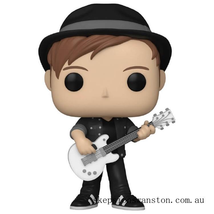Pop! Rocks Fall Out Boy Patrick Stump Pop! Vinyl Figure Clearance Sale