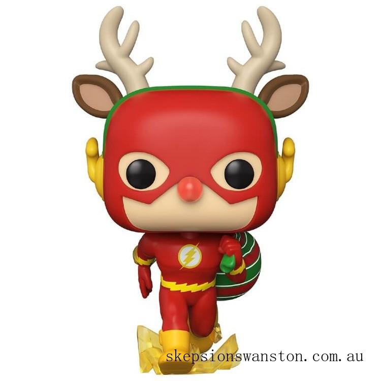DC Comics Holiday Rudolph Flash Funko Pop! Vinyl Clearance Sale
