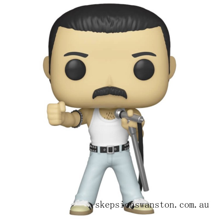 Queen Freddie Mercury 1985 Funko Pop! Vinyl Clearance Sale
