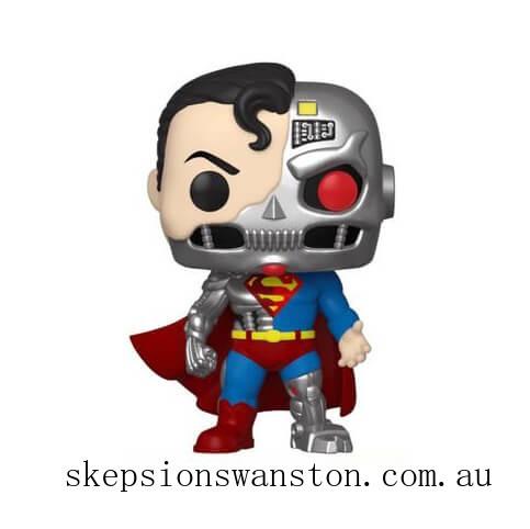 DC Comics Cyborg Superman SDCC 2020 EXC Funko Pop! Vinyl Clearance Sale