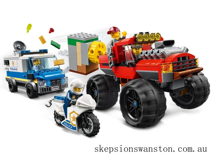 Clearance Lego Police Monster Truck Heist