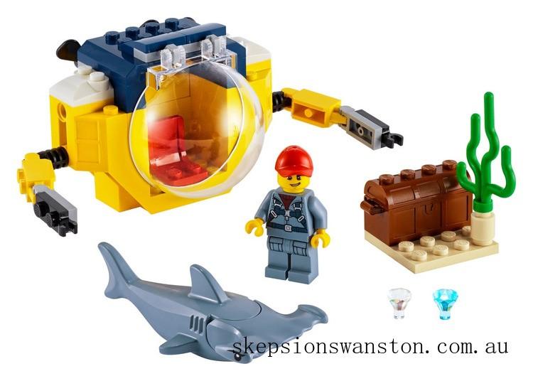 Discounted Lego Ocean Mini-Submarine