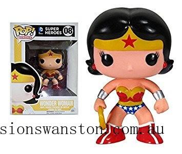 DC Comics Wonder Woman Funko Pop! Vinyl Clearance Sale