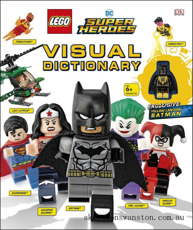Genuine Lego® DC Super Heroes Visual Dictionary