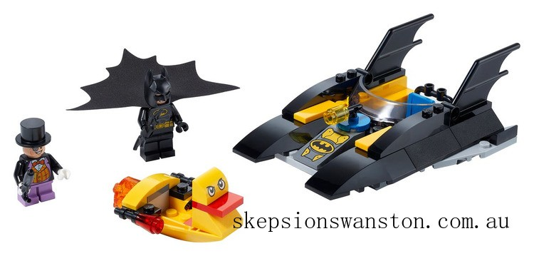 Discounted Lego Batboat The Penguin Pursuit!