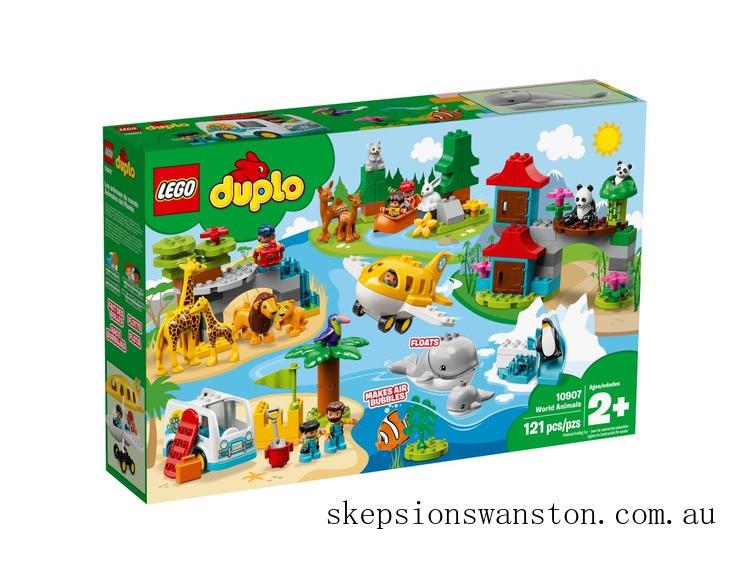 Genuine Lego World Animals