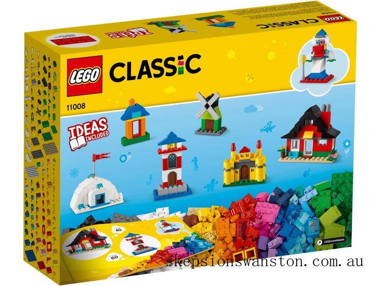 Genuine Lego Bricks and Houses