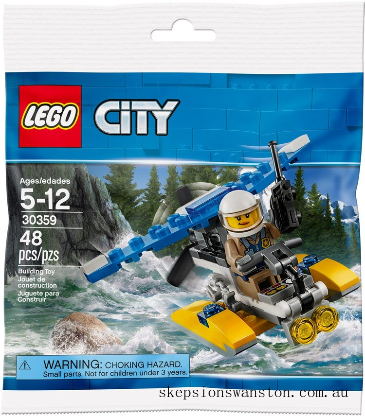 Outlet Sale Lego Police Water Plane
