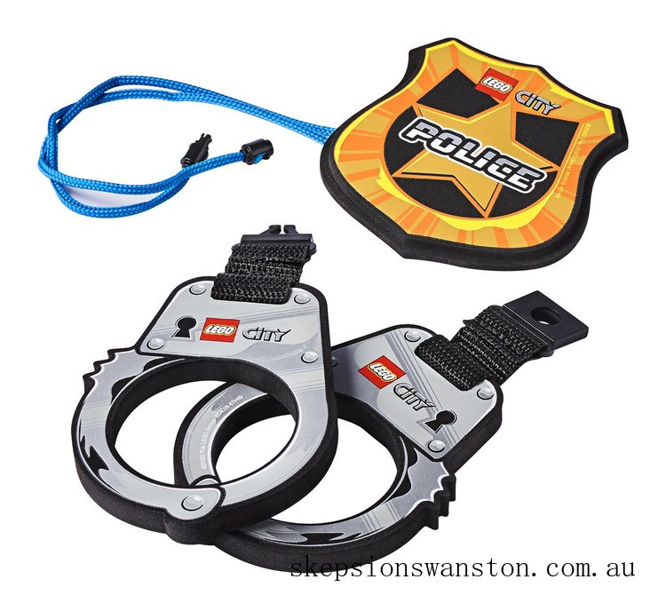 Discounted Lego Police Handcuffs & Badge