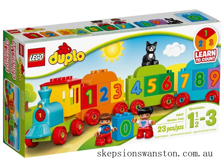 Clearance Lego Number Train