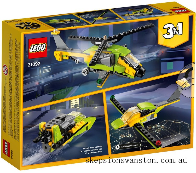 Discounted Lego Helicopter Adventure