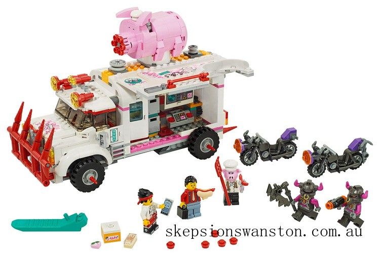 Hot Sale Lego Pigsy's Food Truck