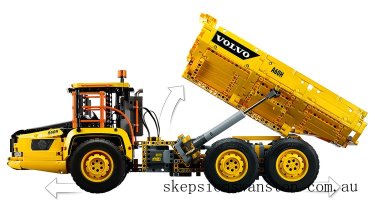Outlet Sale Lego 6x6 Volvo Articulated Hauler