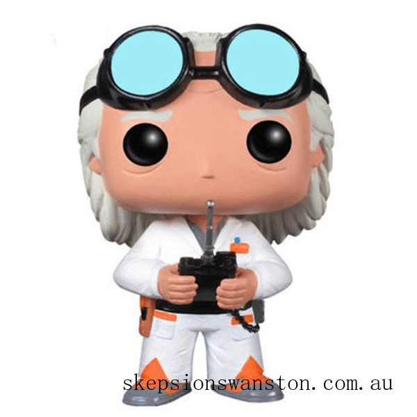 Back to the Future Doc Brown Funko Pop! Vinyl Clearance Sale