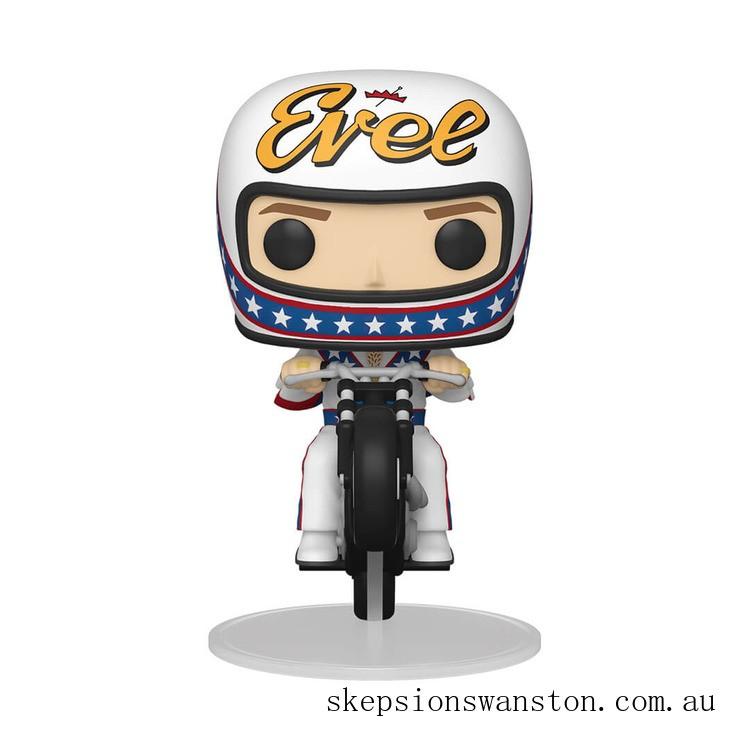 Evel Knievel on Bike Funko Pop! Ride Clearance Sale