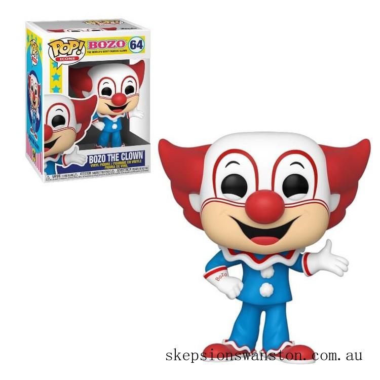 The Bozo Show Bozo the Clown Funko Pop Vinyl Clearance Sale