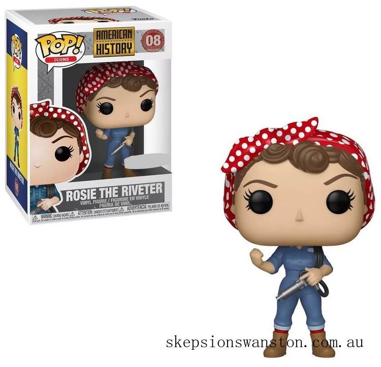 Rosie the Riveter EXC Funko Pop! Vinyl Clearance Sale