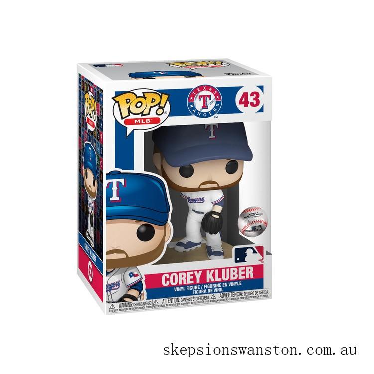 MLB Corey Kluber Funko Pop! Vinyl Clearance Sale