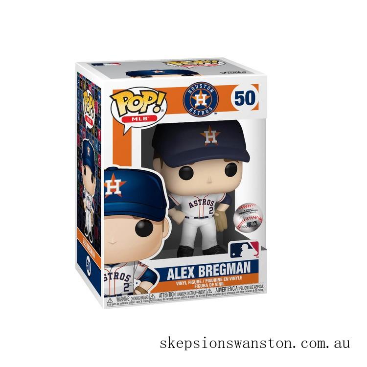 MLB Alex Bregman Funko Pop! Vinyl Clearance Sale