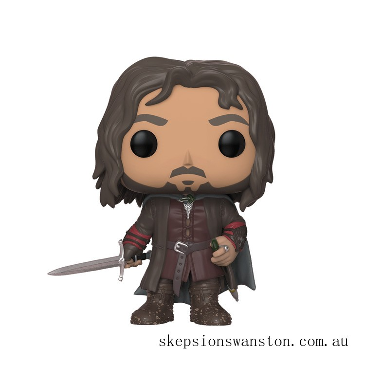 Lord of the Rings Aragorn Funko Pop! Vinyl Clearance Sale