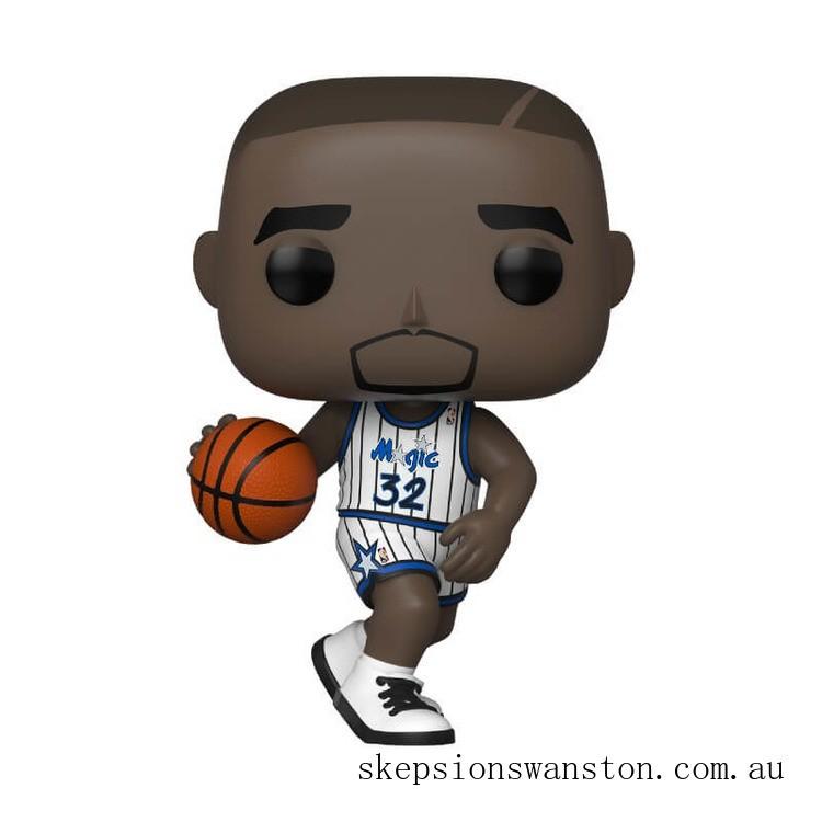 NBA Legends Shaquille O'Neal Magic (Home Jersey) Funko Pop! Vinyl Clearance Sale