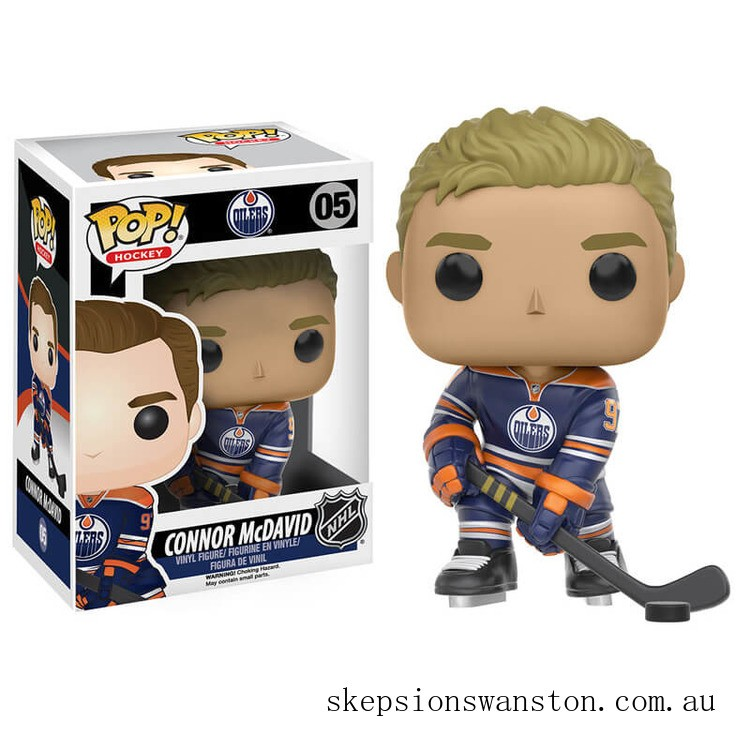NHL Connor McDavid Funko Pop! Vinyl Clearance Sale