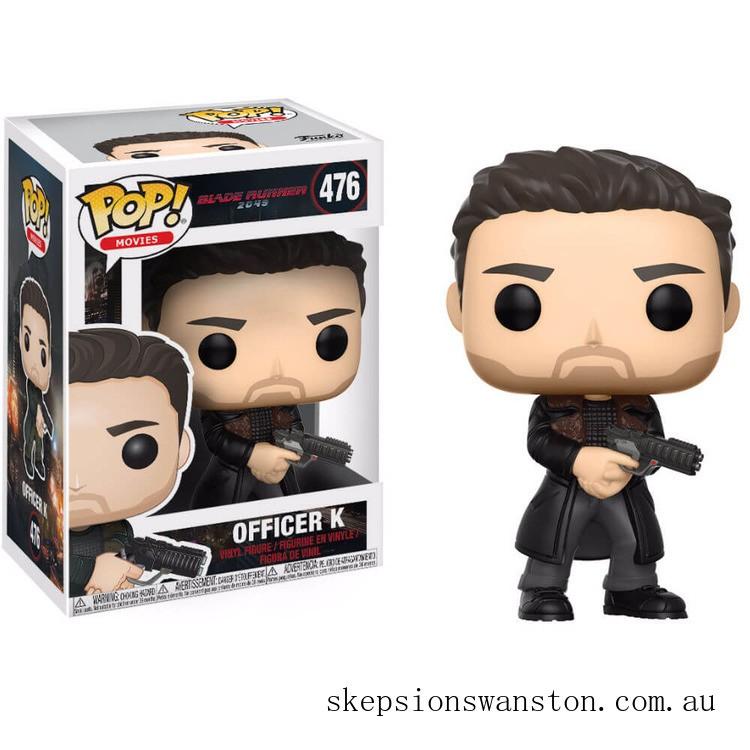 Blade Runner 2049 Officer K Funko Pop! Vinyl Clearance Sale