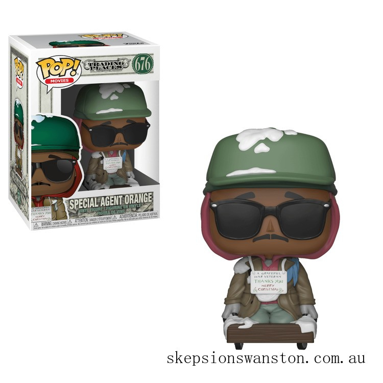 Trading Places Special Agent Orange Funko Pop! Vinyl Clearance Sale