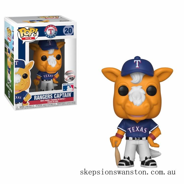 MLB Texas Ranger's Captain Funko Pop! Vinyl Clearance Sale