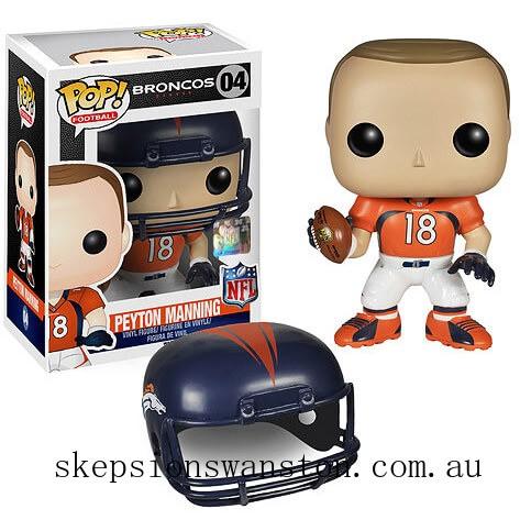 NFL Peyton Manning Wave 1 Funko Pop! Vinyl Clearance Sale