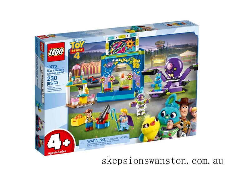 Clearance Lego Buzz & Woody's Carnival Mania!