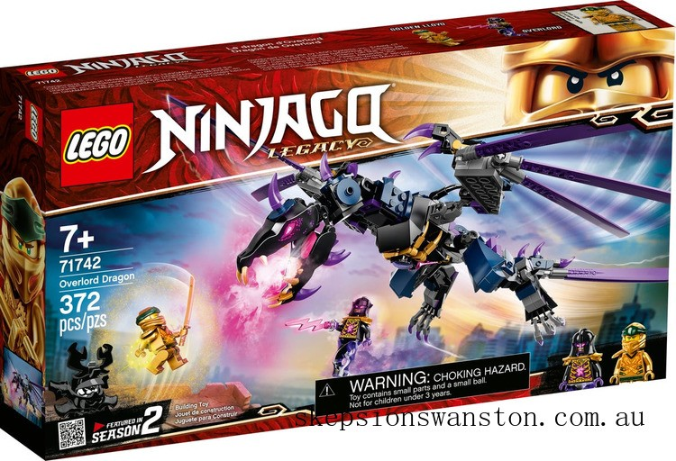 Clearance Lego Overlord Dragon