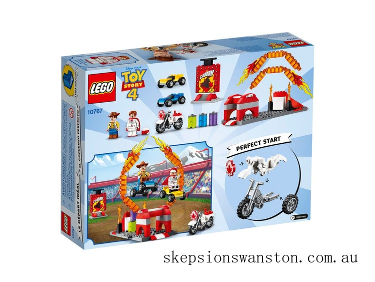 Outlet Sale Lego Duke Caboom's Stunt Show